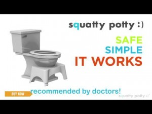 The Squatty Potty works. It is simple, safe and a great way to train the bowels.