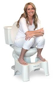 Train your pelvic floor to be strong by utilizing the squatty potty