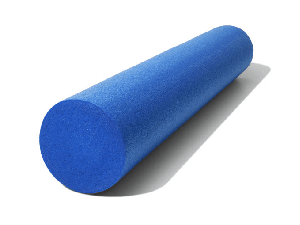 Utilizing the foam roller for pain relief, to release trigger points, to release fascia